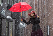 The Weatherbrella provides better protection against bad weather as compared to a regular designed umbrella