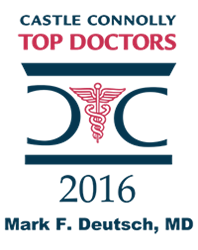 castle connolly top doctor logo dr. mark deutsch