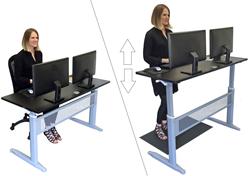 Stand Steady Transcendesk Standing Desk