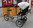 Style Meets Functionality As Babyroues Unveils Meteo, An Extraordinary Bicycle-Stroller Mashup