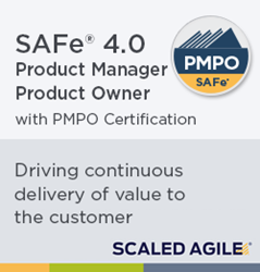 Scaled Agile's New SAFe 4.0 PMPO Certification