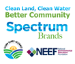 Spectrum Brands Employees Volunteer at Public Land Sites in Three States to Protect Water Quality in Their Communities and Beyond