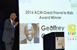 Geoffrey Canada speaks at ACM's InterActivity 2016