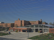Looking through mesh, Universities at Shady Grove Parking Garage