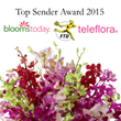 Blooms Today Recognized as Top Sender for 2015