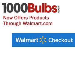 1000Bulbs.com joins a select group of retailers to participate in Walmart's Marketplace as a vetted third party seller.