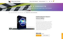 Pixel Film Studios Effect Plugin - ProBrand Reveal Volume 4 - FCPX