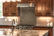 Granite Kitchen Mt. Rainier Plan Custom Home