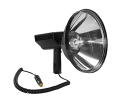 80 Watt HID Handheld Spotlight that produces 7,200 Lumens of Light