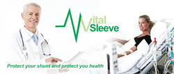 By using  Vital Sleeve, wounds and even the shunt or fistula site of an arm can be protected to the fullest at all times