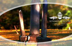 Monument Protectors, a commemorative invention designed to provide a personalized and protective accessory for grave stones.