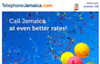 Up to 40% lower rates to call Jamaica from abroad, announced by TelephoneJamaica.com