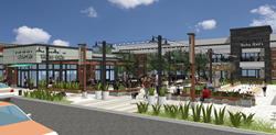 Walnut Creek's beloved Rossmoor Shopping Center received approval from the Walnut Creek Design Review Commission, the third of three approvals necessary to begin the Center's dramatic redevelopment