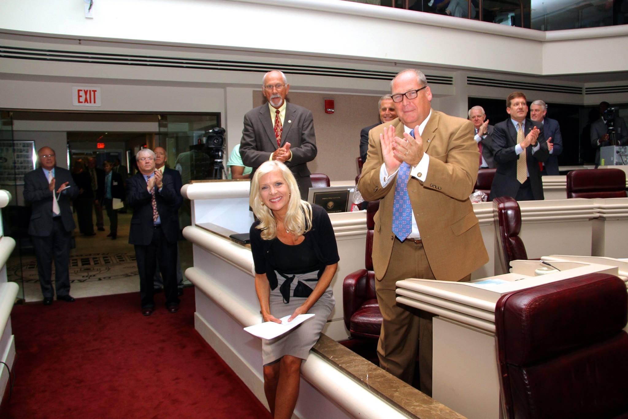 Rep. Becky Nordgren Alabama Lyme Disease Association President, Kevin ...