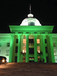Alabama State Capitol lit green for Lyme Disease Awareness month