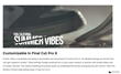 Pro3rd Vibes - Pixel Film Studios Lower Third - Final Cut Pro X Plugin