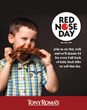 Tony Roma's FUN-raises to Support Red Nose Day