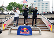 Monster Energy's Nyjah Huston Takes 1st Place at Red Bull Hart Lines Competition in Detroit; Monster Teammate Curren Caples Barges into Close 2nd Place Finish