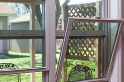 Hermosa double single hung window