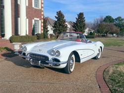 1961 corvette, classic car, exotic car