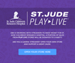 Design By Humans is working with St. Jude on Play Live Event
