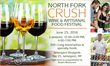 New York Wine Events Presents 2nd Annual North Fork Crush Wine & Artisanal Food Festival at Jamesport Vineyards, Saturday, June 25, 2016