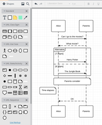 Lucid software releases uml sequence diagram markup tool lucidchart uml sequence diagram markup tool ccuart Images