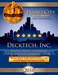 DeckTech, Inc. Receives 2016 Pulse of the City News Customer Satisfaction Award