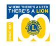Lions Centennial Logo