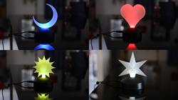Have a look at the great decoration light on Kickstarter.