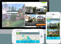 Property Up Mobile and Desktop real estate search application