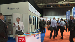 Air Source Heat Pump to heat social housing on display at All-Energy 2016 in Glasgow