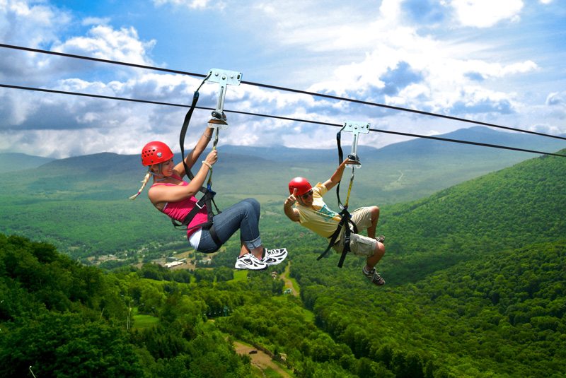 New York Zipline Adventures at Hunter Mountain, Named One ...