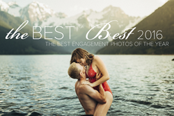 Image from the 2016 Best of the Best Engagement Photography Collection