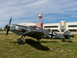 Messerschmitt Bf 109 infront of Military Aviation Museum.