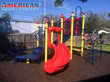 American Parks Company Playground Equipment Installed at Catholic Charities of Southeast Texas