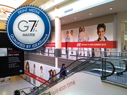 G7 Master Certification for AGRetail – PMS color matching for large format retail graphics