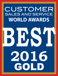 TouchSMS wins Gold Customer Sales and Service World Award