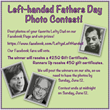 Lefty's the Left Hand Store Announces a Contest for the Best Photos of Left-Handed Dads