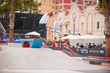 Monster Energy's Ishod Wair at the SLS Nike SB Pro Open in Barcelona