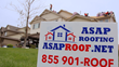 ASAP Roofing Yard Sign Found in Many Neighborhoods
