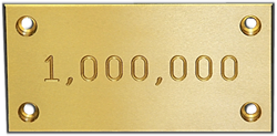 SelfLube manufactured its 1,000,000th wear plate