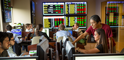 Roland George Investments Program Trading Room, Stetson University