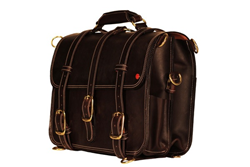 Image of leather briefcase