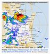 Brisbane Hailstorm 2014 Radar