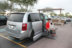 Wheelchair Accessible Van Rentals