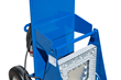 Explosion Proof LED Work Light on Aluminum Base Stand with Dolly Cart
