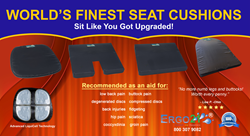 Seat Cushion for back pain, Sciatica and herniated disc