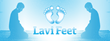Cleaning feet can now be done without being in an uncomfortable position thanks to the LaviFeet,