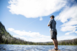 Fishing in the Methow. Photo by Hannah Dewey